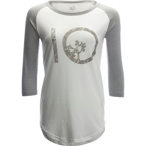 Tentree Logo Shirt - 3/4-Sleeve - Women's