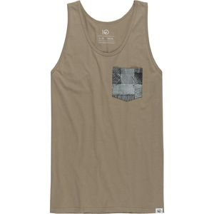 Tentree Pocket Woodblock Tank Top - Men's