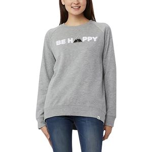 Tentree Happy Pullover Crew Sweatshirt - Women's