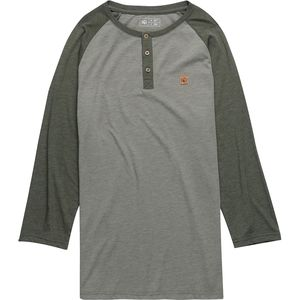 Tentree Standard Henley 3/4-Sleeve Shirt - Men's