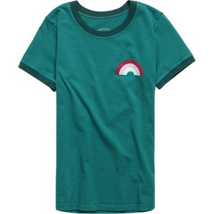 Tiny Whales Ringer Graphic T-Shirt - Girls'