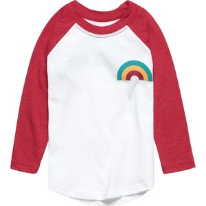 Tiny Whales Long-Sleeve Raglan Top - Toddler Girls'