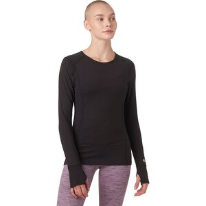 Terramar Cloud Nine Crew Top - Women's