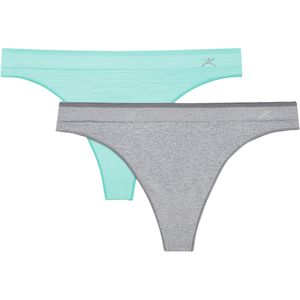 Terramar Seamless Thong - 2-Pack - Women's