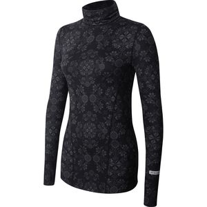 Terramar Cloud Nine Print Turtleneck - Women's