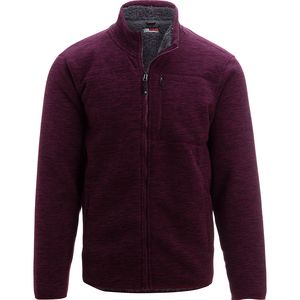 32 Degrees Fleece and Sherpa Full-Zip Jacket - Men's