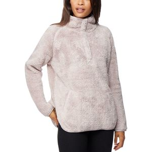 32 Degrees Double Side Sherpa with Buttons Jacket - Women's