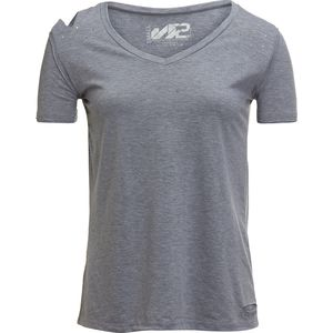 S2 Solid Tee with Distressing - Women's