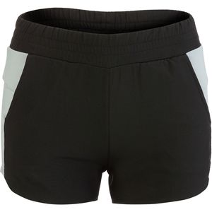S2 Microfiber Running Short with Contrast Side Panel - Women's