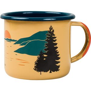 United by Blue Inlet Enamel Steel Mug