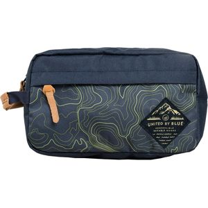 United by Blue Printed Crest Travel Case