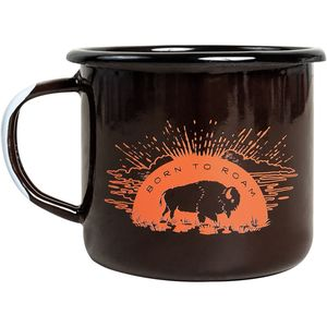 United by Blue Born To Roam Enamel Mug