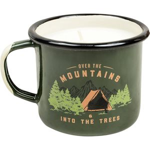 United by Blue Into The Trees Enamel Candle Mug
