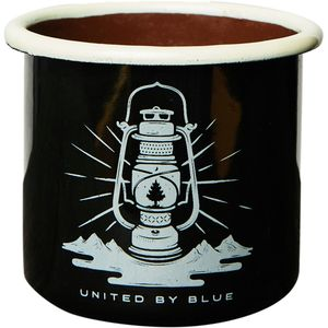 United by Blue Lights Out Enamel Mug