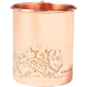 United by Blue Where The Buffalo Roam Copper Mug
