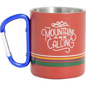 United by Blue Stainless Steel Carabiner 10oz Cup