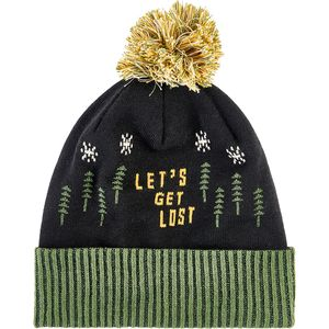United by Blue Let's Get Lost Pom Beanie