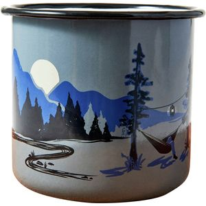 United by Blue Large Twilight & Goodnight Enamel Steel Mug