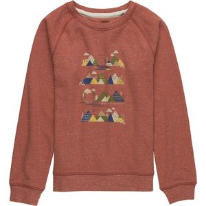 United by Blue Mountain Stripe Pullover Sweatshirt - Girls'