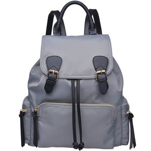 Urban Expressions Top Flap Double Buckle Yoga Backpack - Women's