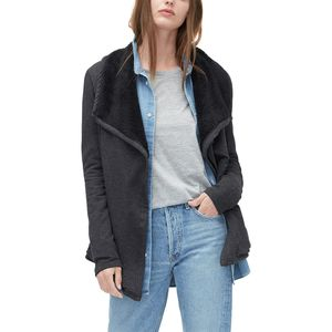 UGG Sherpa Lined Shawl Cardigan - Women's