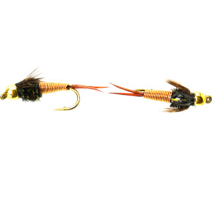 Umpqua Barr's Copper John - 2-Pack