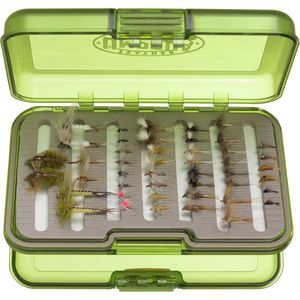 Umpqua Premium Eastern Trout Fly Selection with UPG Fly Box