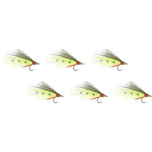 Umpqua Peacock Agitator - 6 Pack