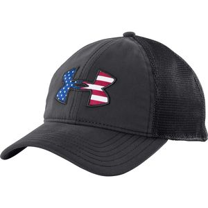 Under Armour Big Flag Logo Mesh Hat