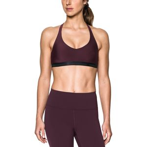 Under Armour Low Strappy Solid Sports Bra - Women's