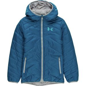Under Armour Coldgear Reactor Hooded Down Jacket - Boys'