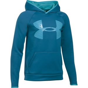 Under Armour Armour Fleece Storm Highlight Pullover Hoodie - Boys'