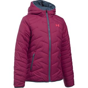 Under Armour ColdGear Reactor Hooded Insulated Jacket - Girls'