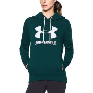 Under Armour Favorite Fleece Wordmark Popover Hoodie - Women's