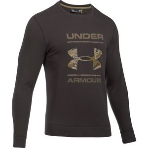 Under Armour Threadborne Camo Fill Crew Sweatshirt - Men's