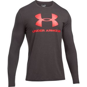 Under Armour Sportstyle Long-Sleeve Logo T-Shirt - Men's