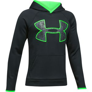 Under Armour Armour Fleece Big Logo Hoodie - Boys'