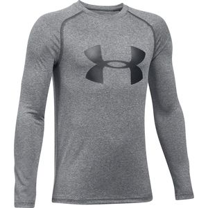 Under Armour Big Logo Long-Sleeve T-Shirt - Boys'