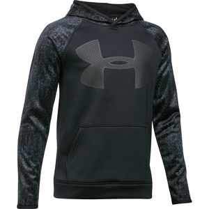 Under Armour Armour Fleece Big Logo Printed Hoodie - Boys'