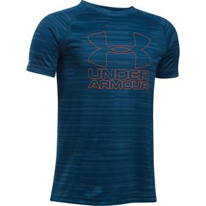 Under Armour Big Logo Hybrid Printed T-Shirt - Boys'