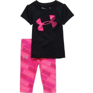 Under Armour UA Wordmark Capri Set - Infant Girls'