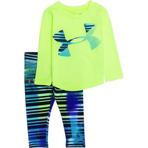 Under Armour Big Logo Script to Legging Set - Infant Girls'