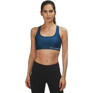 Armour Mid Crossback Sports Bra - Women's