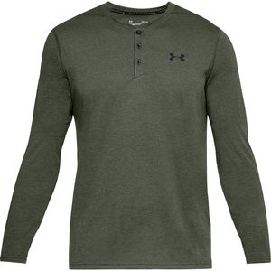 Under Armour Threadborne Long-Sleeve Henley Shirt - Men's
