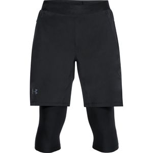 Under Armour Speedpocket Long 2-N-1 Short - Men's