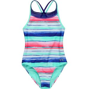 Under Armour Water Stripe One-Piece Swimsuit - Girls'