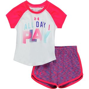 Under Armour All Day I Play Set - Infant Girls'