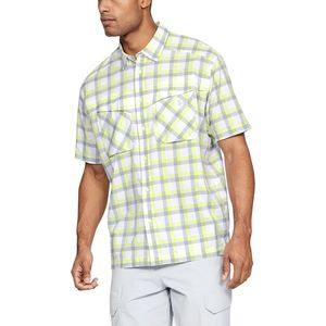 Under Armour Tide Chaser Plaid Short-Sleeve Shirt - Men's
