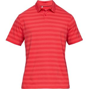 Under Armour Charged Cotton Scramble Stripe Polo Shirt - Men's