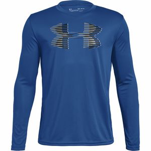Under Armour Tech Big Logo Long-Sleeve Top - Boys'